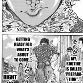 Baki Dou manga - Mangago